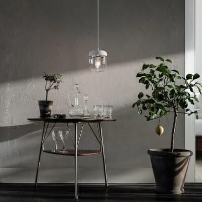 VITA Acorn taklampa vit i stål