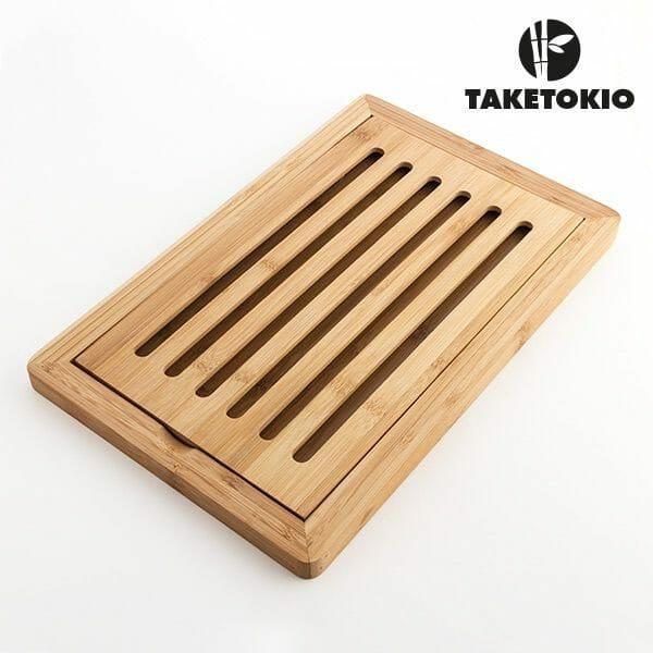 Brödskärbräda i bambuträ Taketokio