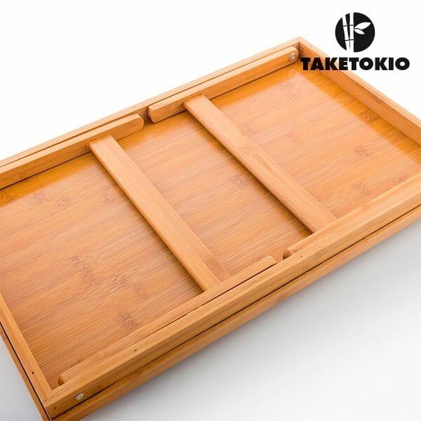 Bambubricka med ben från Taketokio