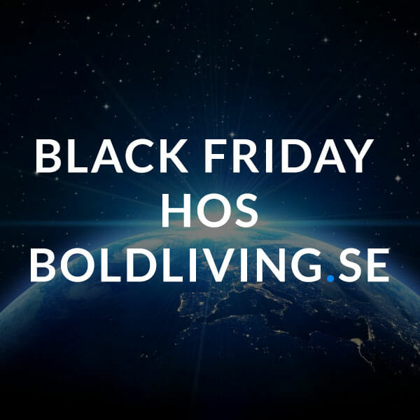 Heminredning black Friday