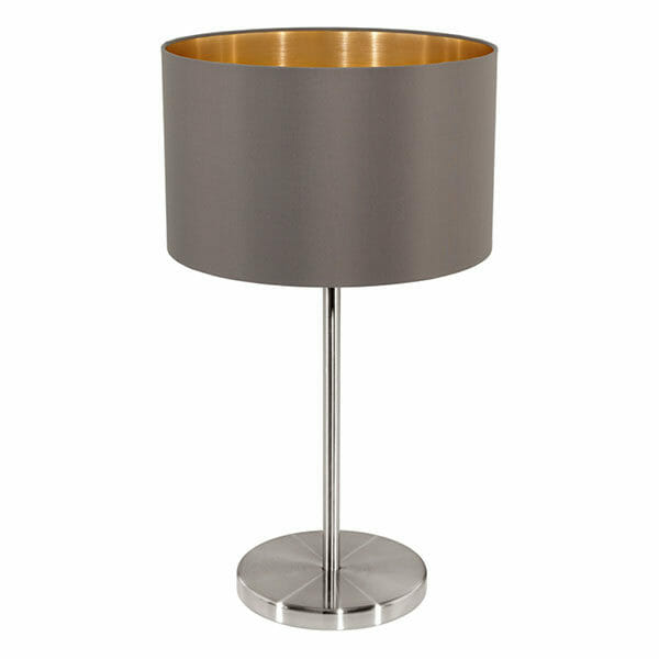 EGLO bordslampa Maserlo cappuccino