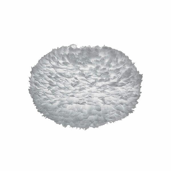 Vita Eos fjäderlampa grå XL