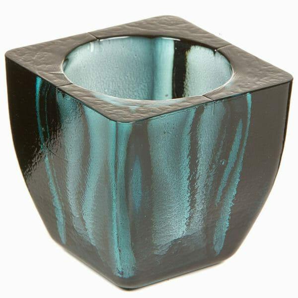 Fyrkantig ljushållare Crystal