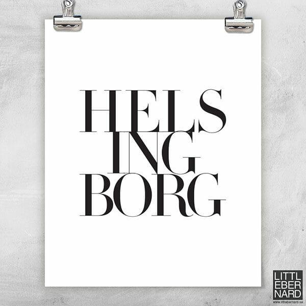 Hemstad Helsingborg poster