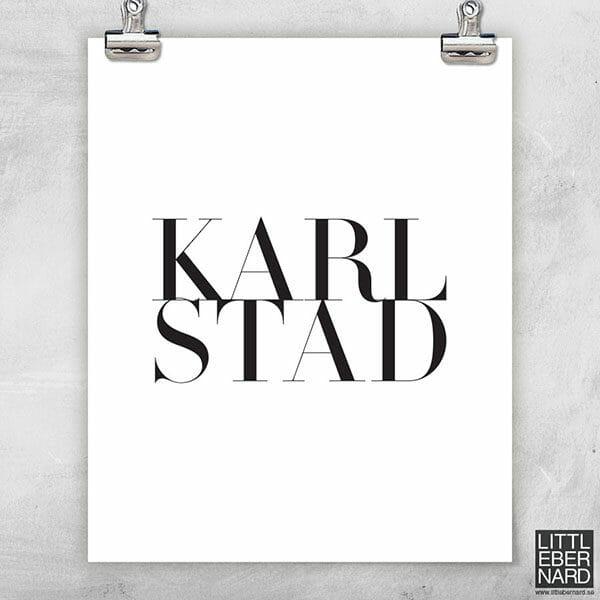 Hemstad Karlstad poster