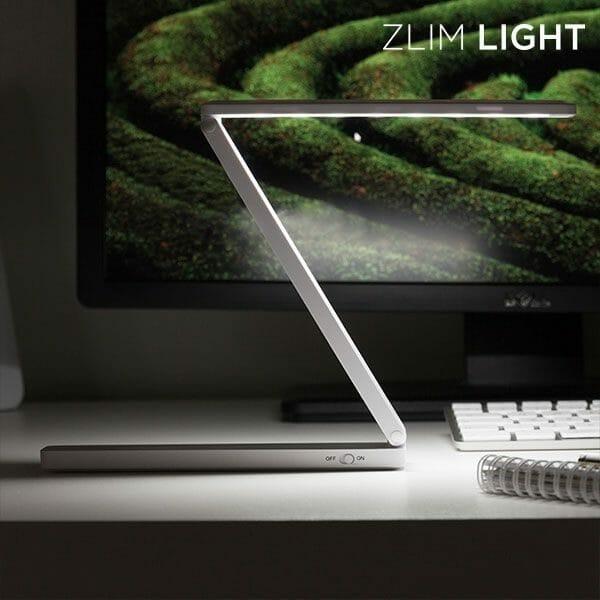 Hopfällbar mini LED lampa med USB Zlim Light