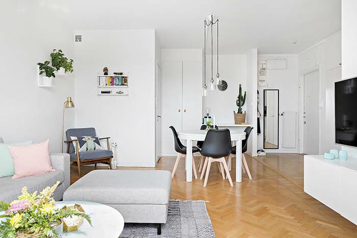 Inredningsinspiration på Gärdet i Stockholm