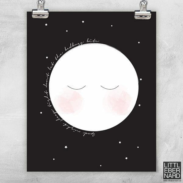 Liten Måne poster