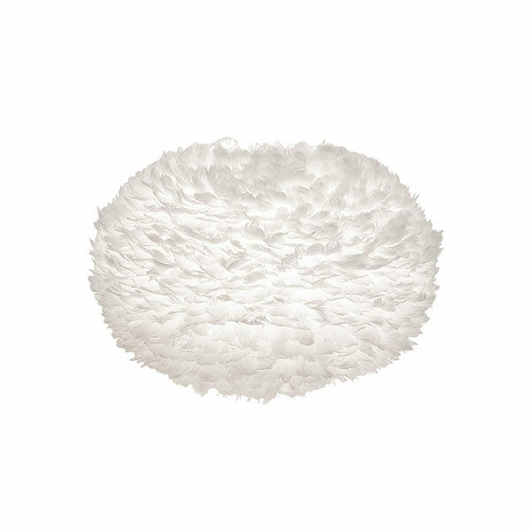 Vita Eos fjäderlampa vit XL