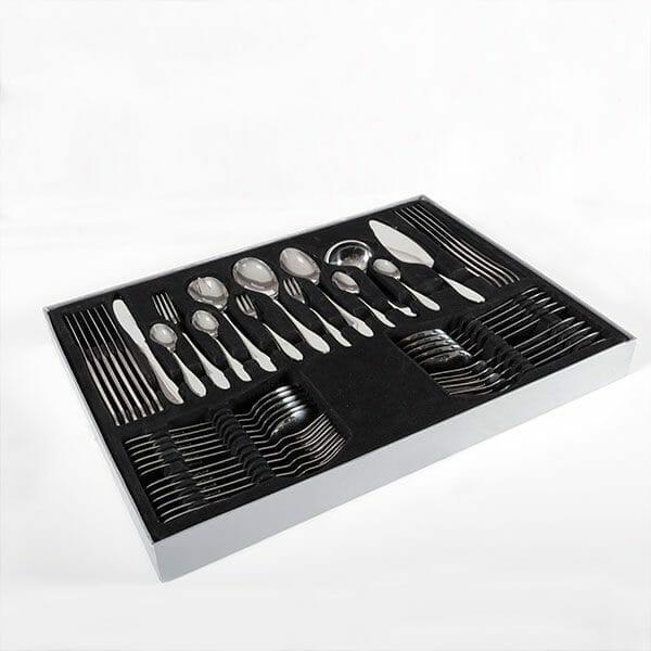 Bestickset i rostfritt stål (60 delar)
