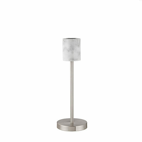 Bordslampa Marmor - Silver Havsö