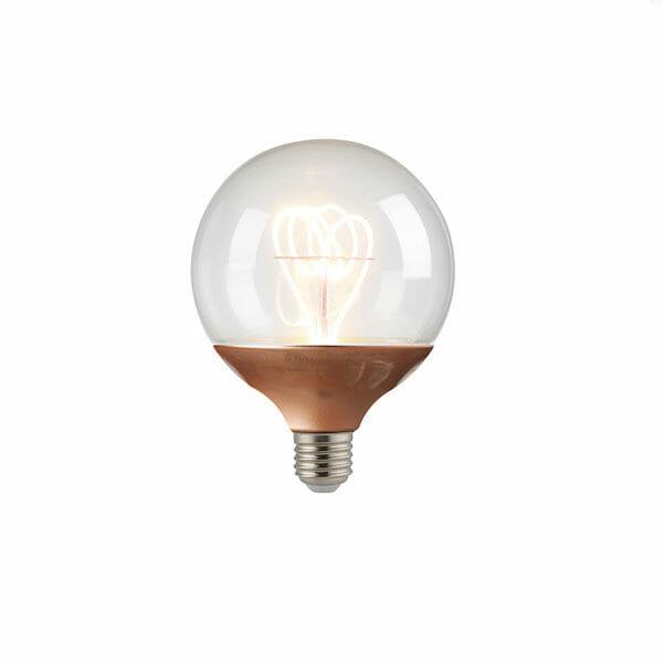 Glödlampa Koppar E27