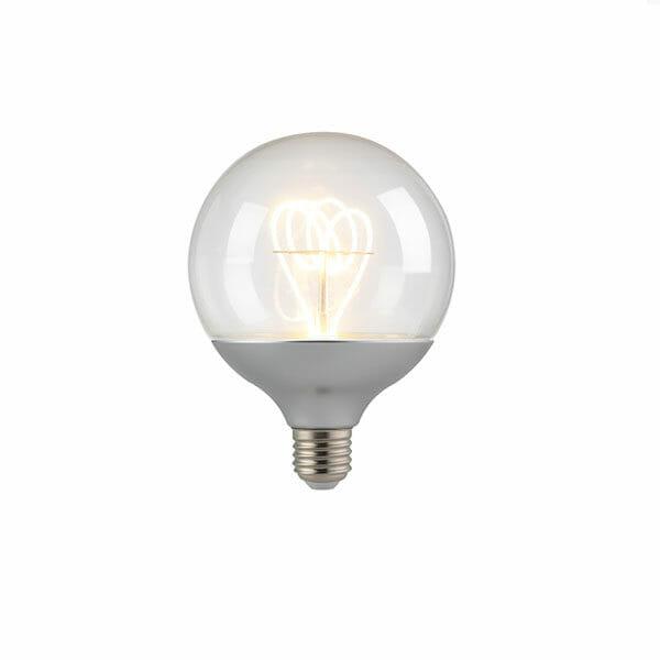 Glödlampa Silver E27