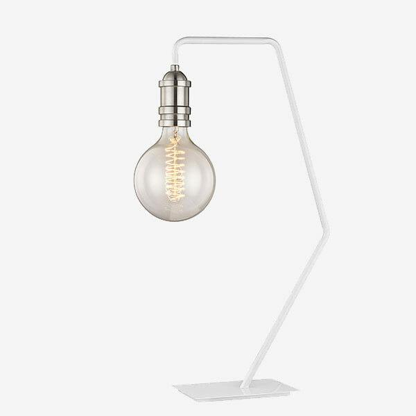 Krok Bordslampa - Vit/silver Havsö