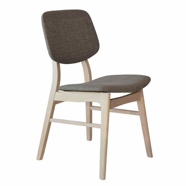 Malte Stol, vitpigmenterad/grå, 2-Pack