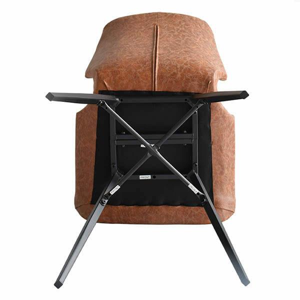 Alle nye Köp Unique Stol, brun konstläder, 6-pack för 4599 kr hos Boldliving.se LW-82