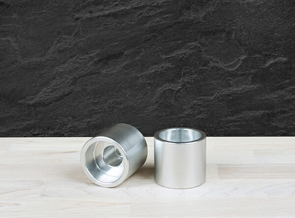 Vals ljushållare, Silver (2 st)