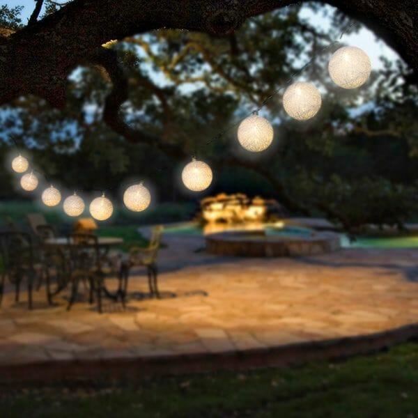 Dekorativ ljusslinga LED Bollar