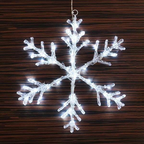 Dekorativ snöflinga (40 LED)