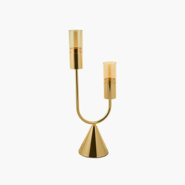 Kandelaber - Queen Deco Guld