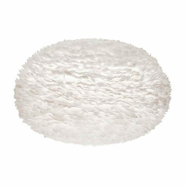 Vita Eos fjäderlampa vit XXL (110 x 70 cm)