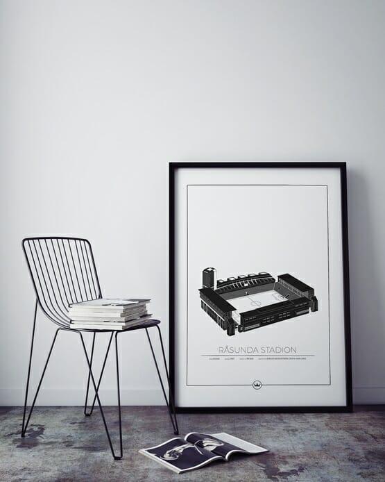 Poster av Råsunda - Stockholm