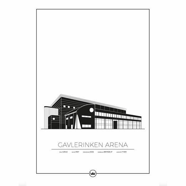 Poster Gavlerinken - Gävle