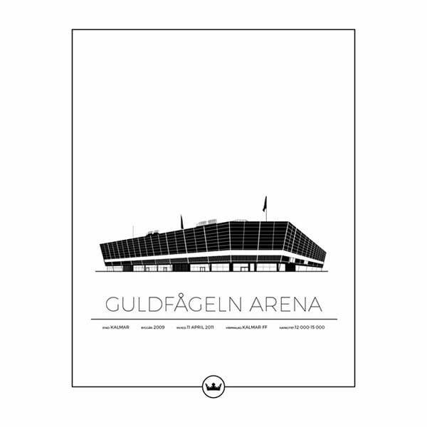 Poster Guldfågeln Arena - Kalmar FF