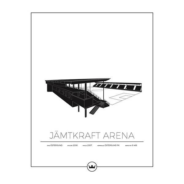 Poster Jämtkraft Arena - Östersunds FK