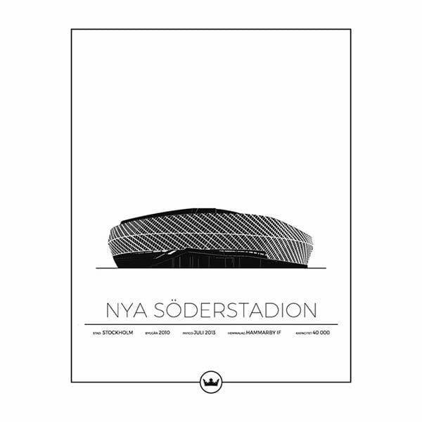 Poster Nya Söderstadion - Hammarby, Stockholm