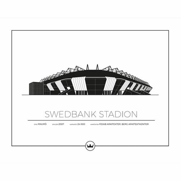 Poster Swedbank Stadion - Malmö FF