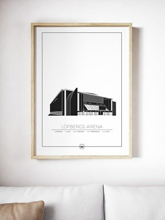 Poster Löfbergs Arena - Färjestads BK, Karlstad