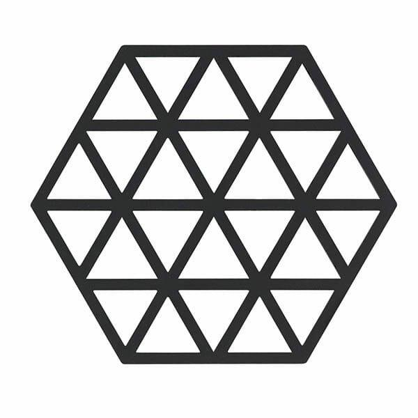Grytunderlägg Triangles Zone, Svart