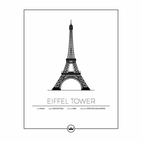 Poster av Eiffeltornet - Paris