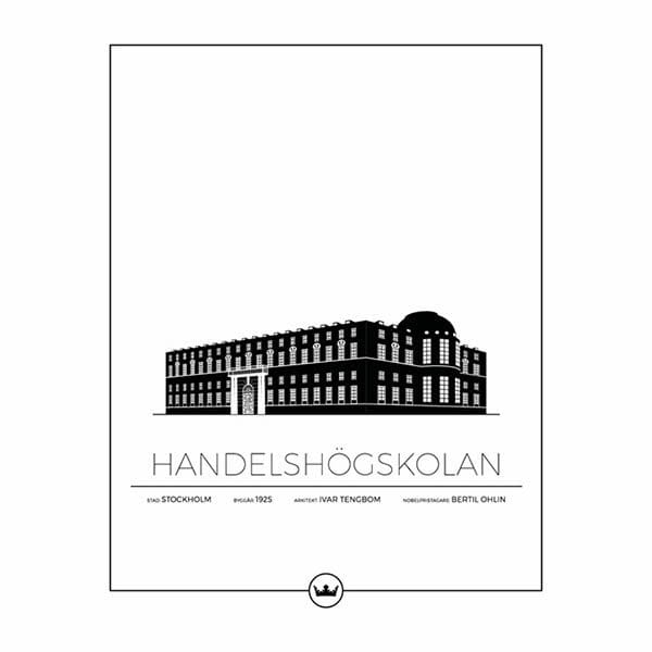 Poster av Handelshögskolan - Stockholm