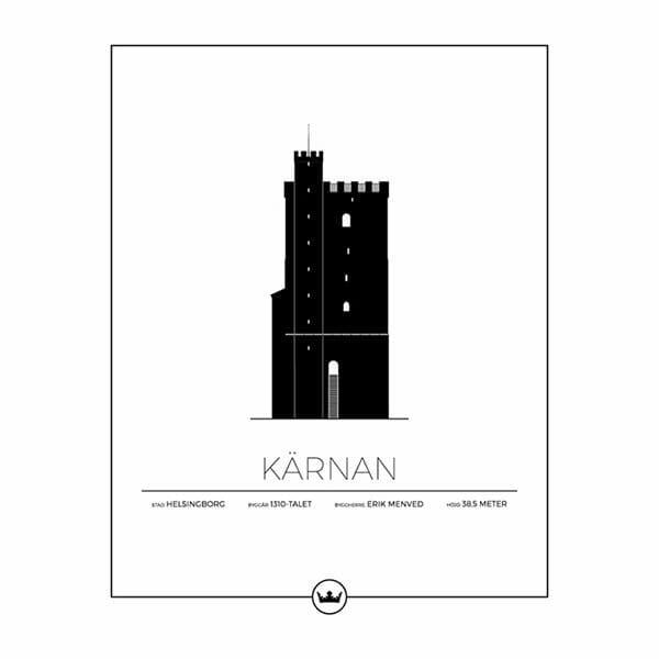 Poster av Kärnan - Helsingborg