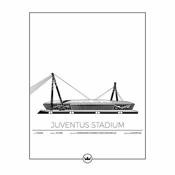 Poster Juventus stadium - Juventus - Torino