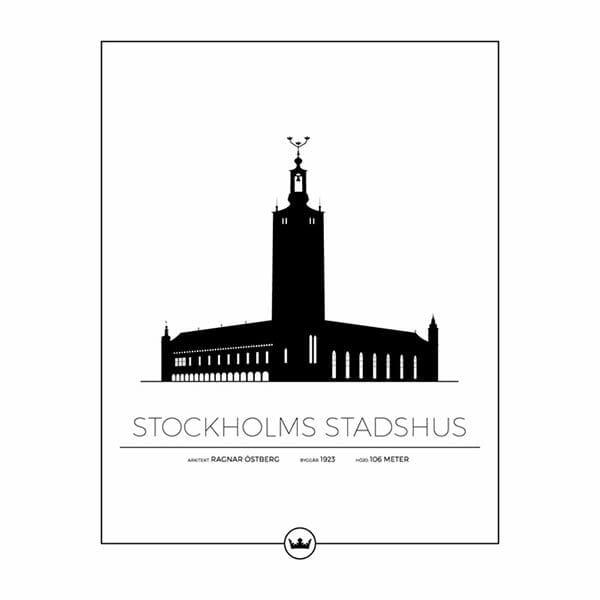 Poster Stockholms stadshus - Stockholm