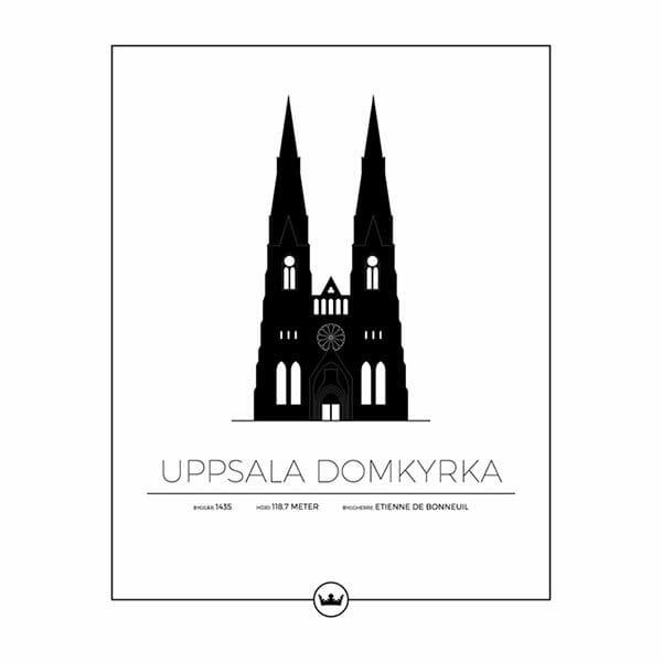 Poster Uppsala Domkyrka - Uppsala