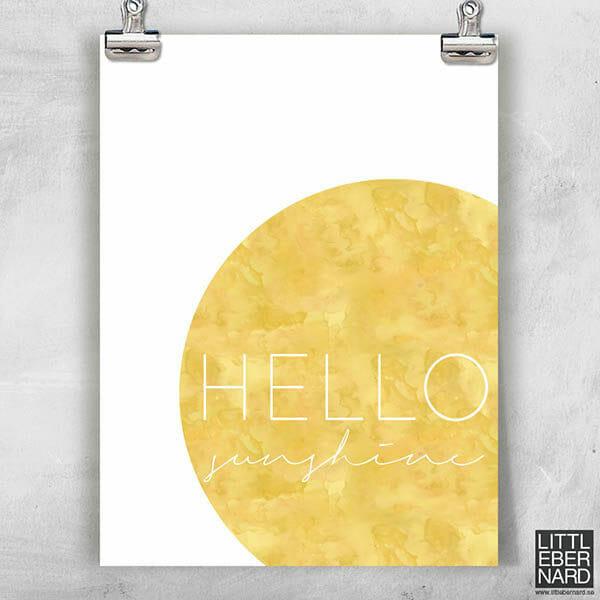 Poster Solstråle