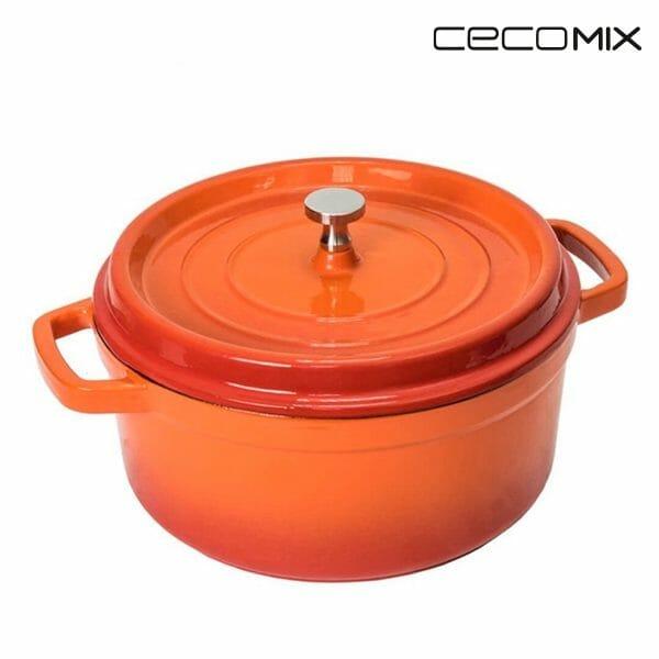 Cocotte Gryta Cecomix Orange