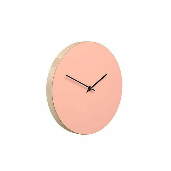 Kiekko Wall Clock, Rosa