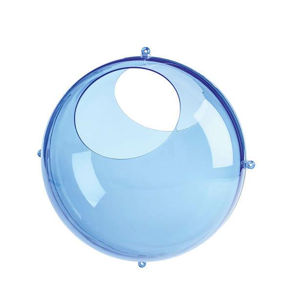 Koziol Väggförvaring Orion Transparent, Blå
