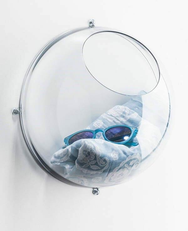 Koziol Väggförvaring Orion Transparent