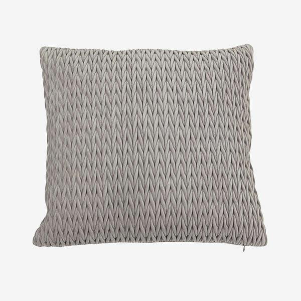 Kuddfodral Fancy Grå (45 x 45 cm)