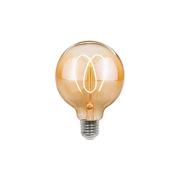 Nykomna Köp Vintage LED Hjärta Glödlampa - G95 för 199 kr hos Boldliving.se IH-88