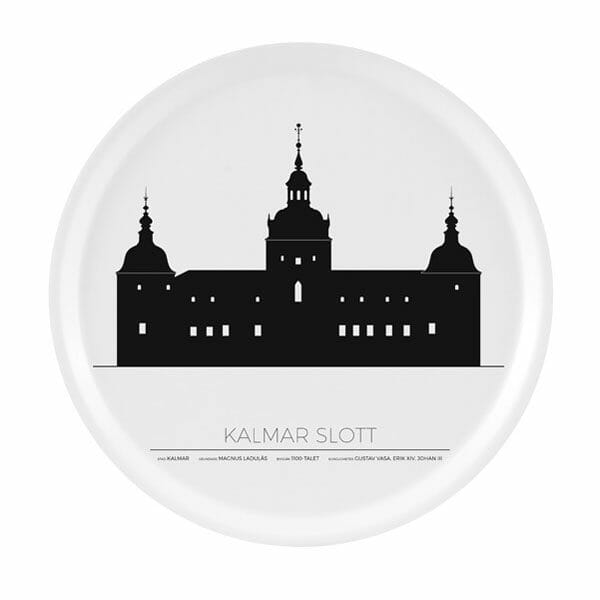 Bricka Kalmar Slott Kalmar, Rund 38cm