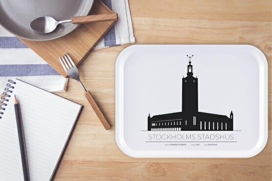 Bricka Stockholms Stadshus, Stockholm