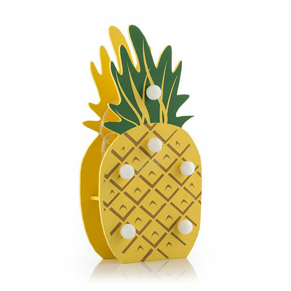Bordslampa Ananas LED