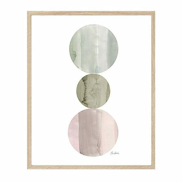 Poster Print Circles, Elina Dahl